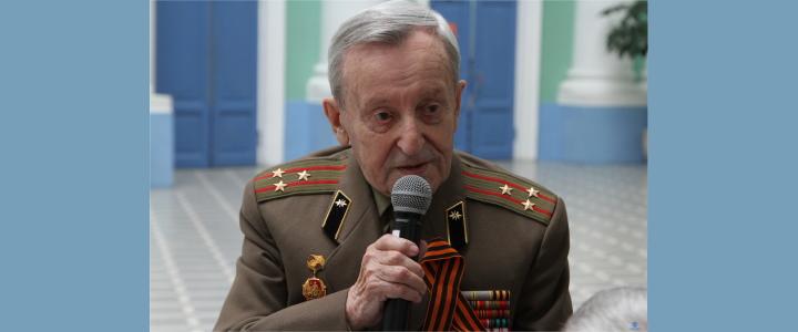 95 лет Борису Исааковичу Перскому – ветерану Великой Отечественной войны