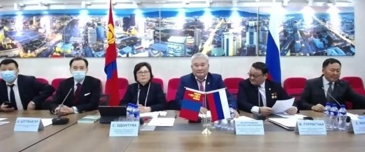 Преподаватели и студенты МПГУ приняли участие в Эстафете Дружбы, посвященной 100-летию установления дипломатических отношений между Монголией и Российской Федерацией