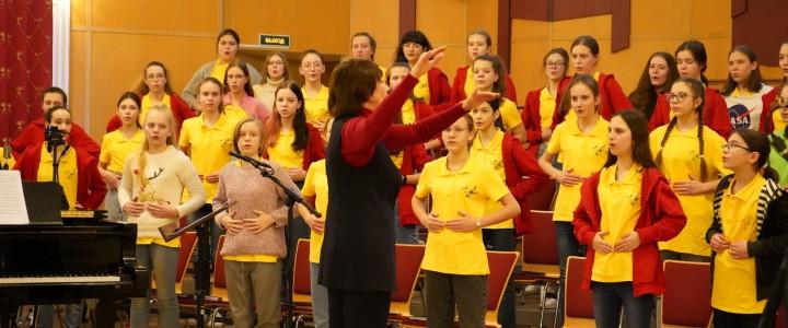 Мастер-класс по хоровому пению Е.Н. Никитиной