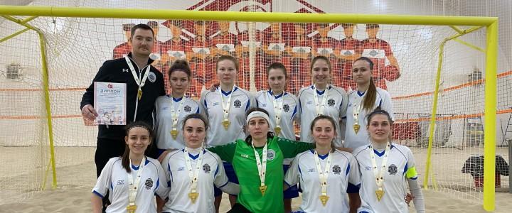 Женская сборная МПГУ по пляжному футболу – Чемпион XXXIII Московских студенческих спортивных игр