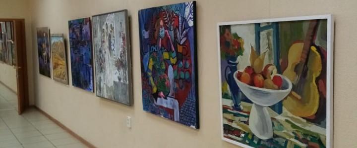 Преподаватели кафедры СГО и Дизайна выставили свои работы на выставку в г.Новороссийск