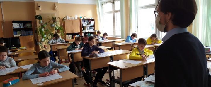 Студенты ИМИ помогли провести «Турнир Архимеда» в школе № 2007