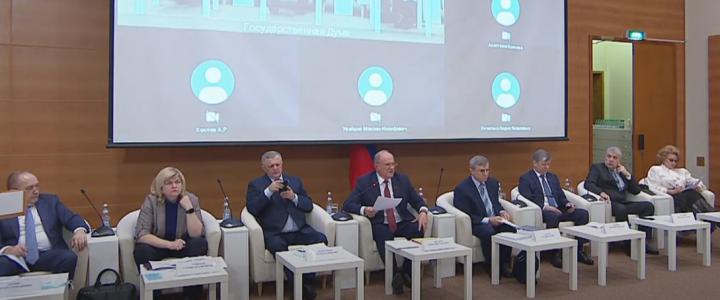 Алексей Лубков принял участие в парламентских слушаниях