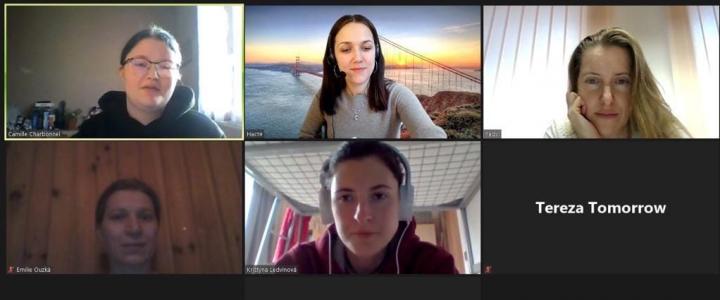 Группа студентов из Чехии начала обучение по программе межвузовского обмена