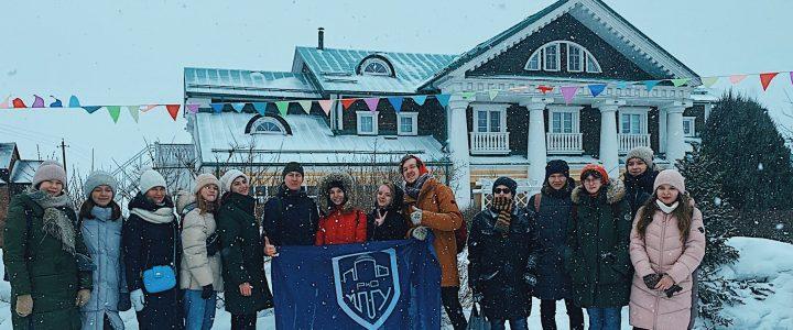 Студенты ИМИ на проводах Масленицы во Владимирской области