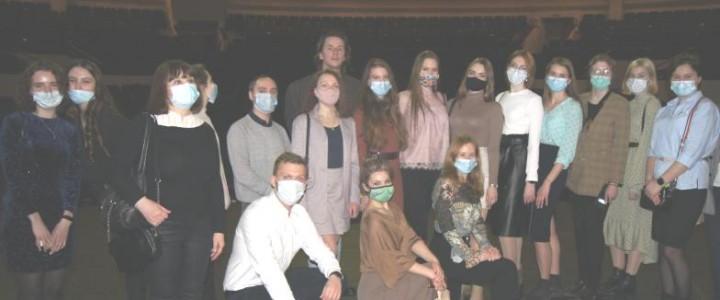 «Ночь театров» с программой дополнительного образования «Театральное искусство»