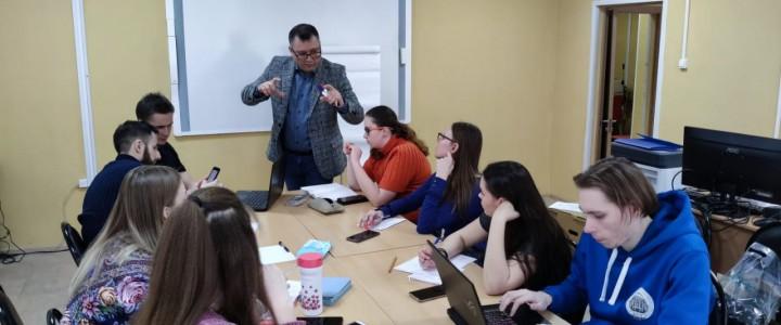Творческая встреча студентов Колледжа МПГУ с писателем Натальей Игнатенко