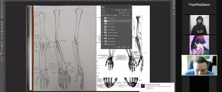 Анатомия, но не для медиков: лицеисты посетили лекции Бориса Танделова