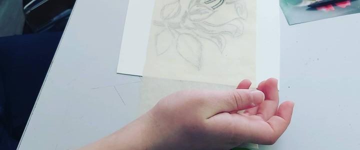 """Мастер-класс """"Эстамп-печать гравюр с помощью станка"""""""
