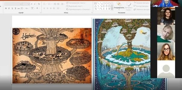 Онлайн – фестиваль «Дистанционный  урок» студентов 4 курса Института филологии в период педагогической практики