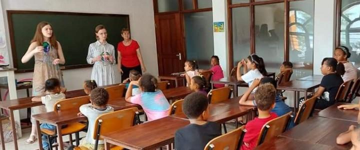 Магистранты Института филологии МПГУ приступили к практике в Танзании