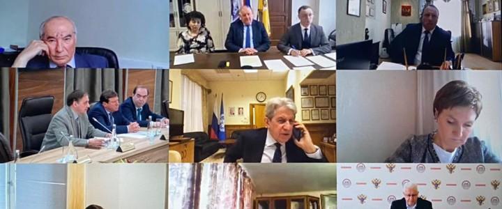 МПГУ принял участие в заседании Координационного комитета кафедр ЮНЕСКО РФ