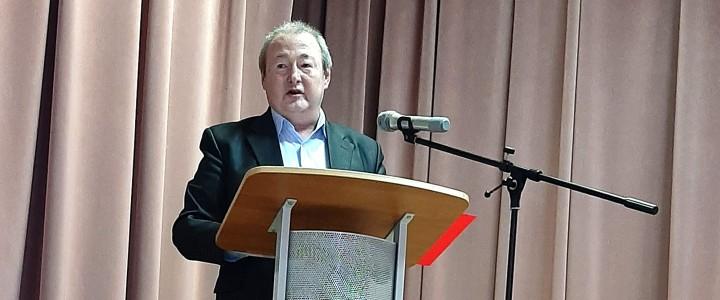 Публичная лекция кандидата педагогических наук, ведущего специалиста МПГУ С.П. Пимчева в Гжели