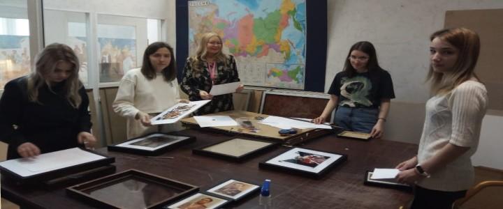 Музейная практика студентов-дизайнеров прошла в Архиве Российской академии наук