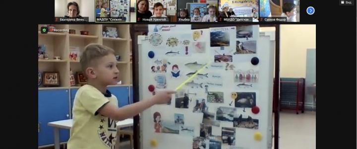 Е.В. Трифонова и А.С. Обухов приняли участие в Ямало-Ненецком региональном этапе конкурса «Я – исследователь»