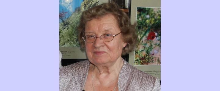 «Вспомним всех поимённо»: Светлой памяти Нины Ивановны Шориной (16.04.1933 – 26.01.2020)