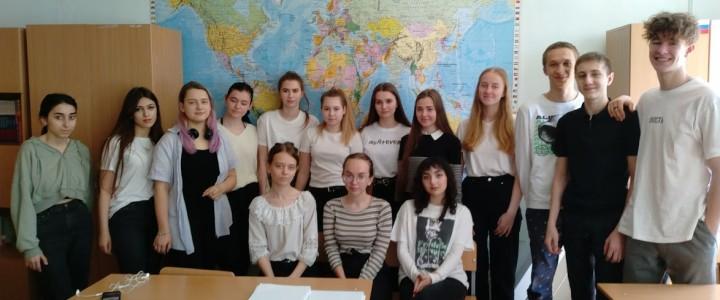 Продолжаем профориентационную работу:  Школа правового просвещения в Лицее № 10 г. Ставрополя