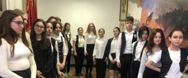 Мастер-класс для учащихся города Железноводска