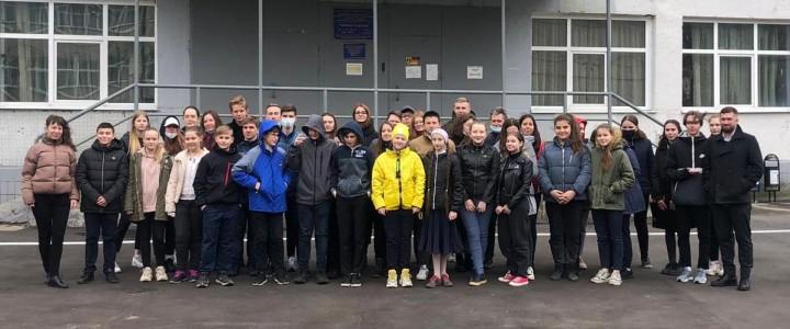 Фестиваль наук-2021 в Лунёвской школе