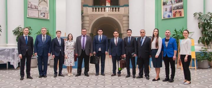 Делегация из Узбекистана посетила МПГУ