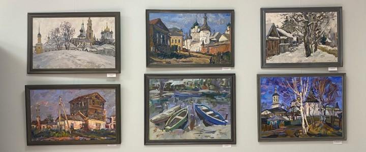 ХГФ: студенты о выставке А.И.Филимонова в Корпусе гуманитарных факультетов МПГУ