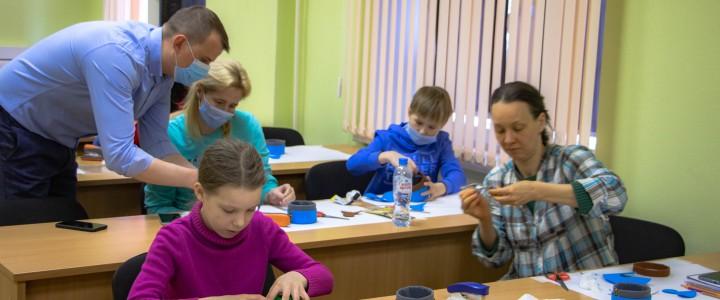 Мастер-класс «Жилища народов России» прошел в Центре развития открытого образования в рамках проекта «Университетские субботы МПГУ»