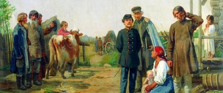 Профессора МПГУ В.Ю.Захаров и Л.М.Ляшенко на канале «RT на русском». Комментарий «Освобождённая энергия крестьянства»