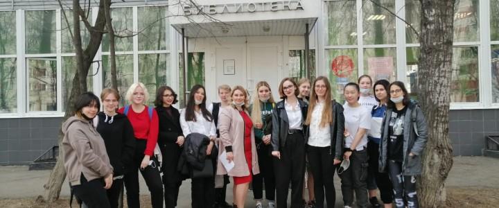 Творческая суббота апреля. Студенты Колледжа МПГУ приняли участие в поэтической встрече.