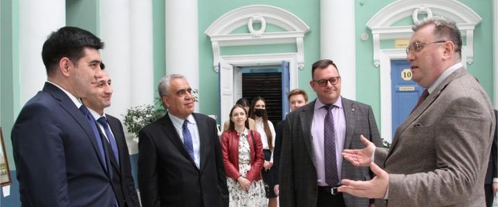 15 апреля 2021 г. Делегация из Узбекистана посетила МПГУ