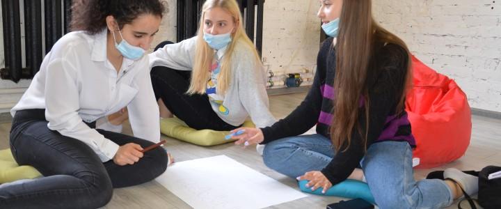 В Анапском филиале МПГУ в рамках профориентационной работы прошел мастер-класс «Организация детско-юношеского досуга»
