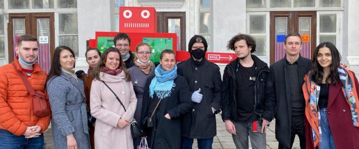Студенты ИМИ посетили Робостанцию на ВДНХ