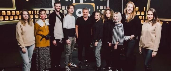 В гостях проекта «ОК на связи!» побывали Леонид Агутин и журналисты Лицея