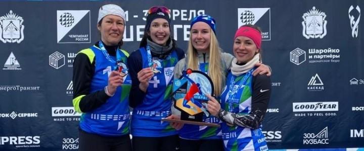 Студентка ИФКСиЗ Терентьева Елизавета подтвердила звание чемпионки России по волейболу на снегу