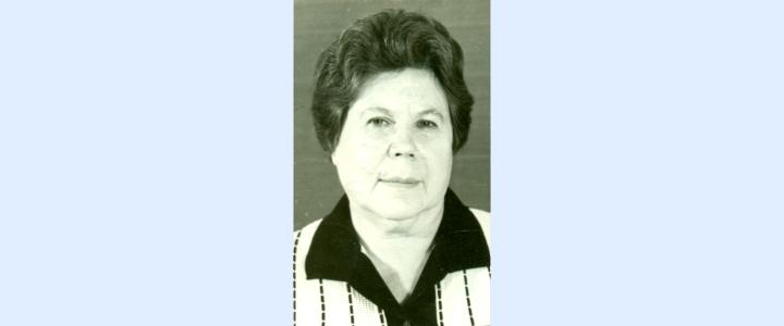 «Вспомним всех поимённо»: Светлой памяти Нины Семёновны Лагутчевой (3.05.1920 – 11.11.2002)