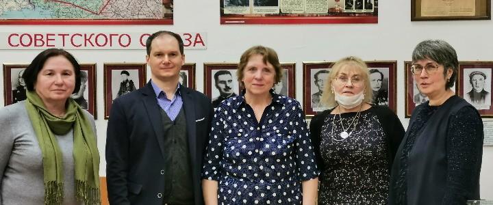 Крепнут деловые и творческие связи музеев московских образовательных организаций