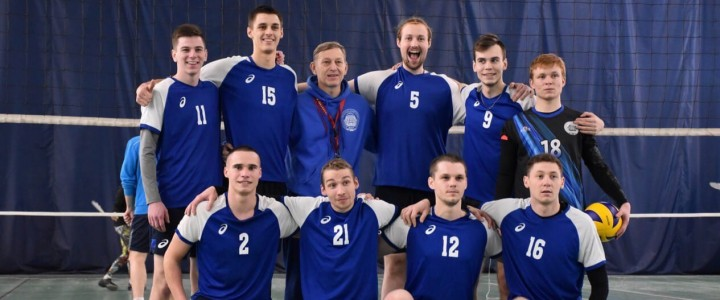Мужская сборная МПГУ по волейболу идёт на повышение