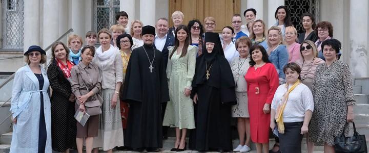 Директор Сергиево-Посадского филиала МПГУ принял участие в заседании круглого стола «Жены-мироносицы и современные женщины»