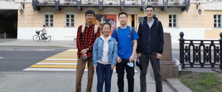 ХГФ: Слайд-отчёт китайской группы студентов 1 курса магистратуры