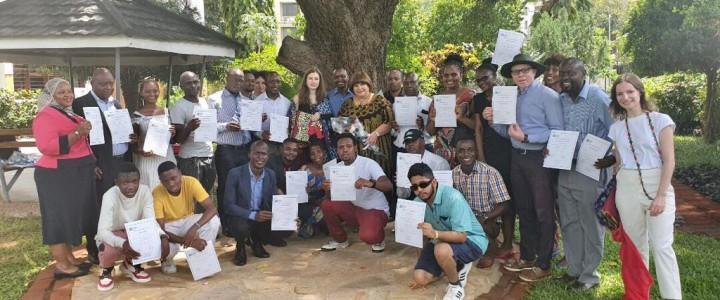 Завершилась практика магистрантов  Института филологии в Танзании