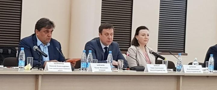 Круглый стол «Россотрудничество как площадка продвижения для российских университетов»