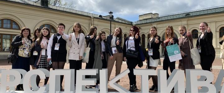 Защита работ и интеллектуальное путешествие по Санкт-Петербургу. День второй