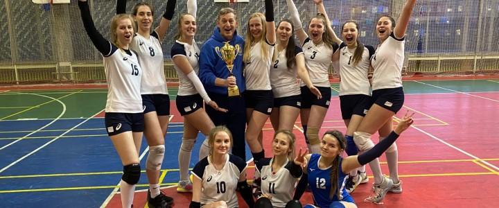 Женская сборная МПГУ по классическому волейболу стала победителем XXXlll МССИ