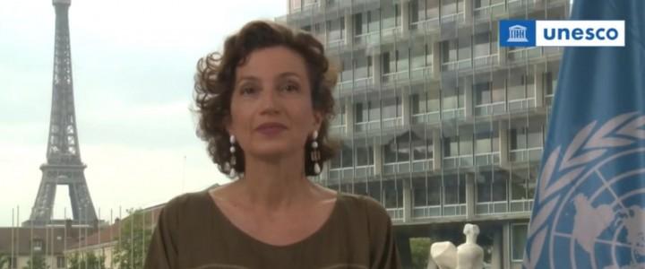 Сеть российских кафедр продвигает идеалы ЮНЕСКО на русском языке: приветствие г-жи Одри Азуле в Международный день русского языка