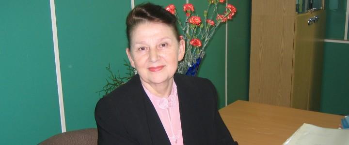 Поздравляем Валентину Ивановну Яшину с 80-летним юбилеем!