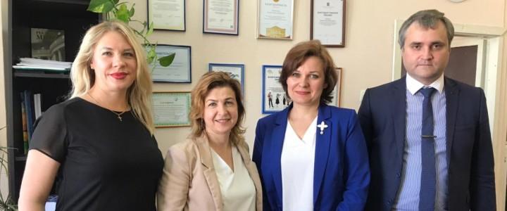 Встреча представителей МПГУ с ректором Калининградского областного института развития образования