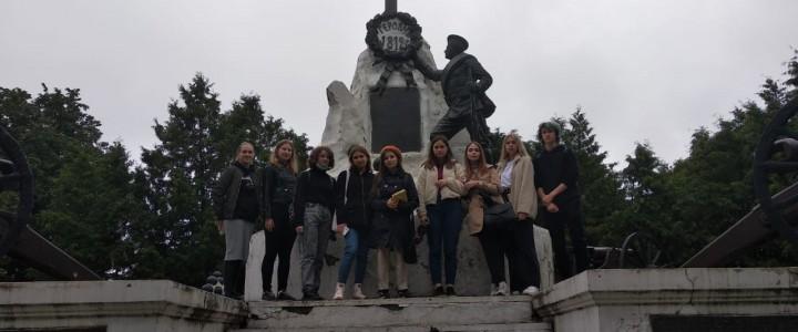 Лицеисты посетили город воинской Славы – Малоярославец