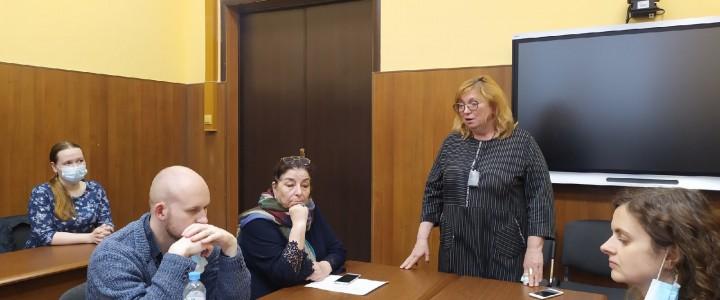 В Институте филологии  прошло награждение победителей 1 этапа конкурса научных работ