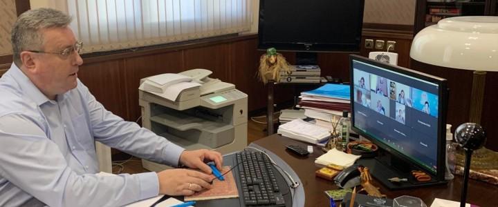 Состоялось заседание Организационного комитета Всероссийского конкурса сочинений «Без срока давности»