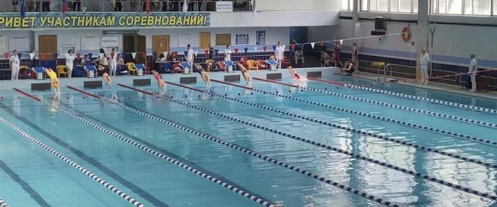 Сборная команда МПГУ по плаванию достойно выступила на втором этапе МССИ