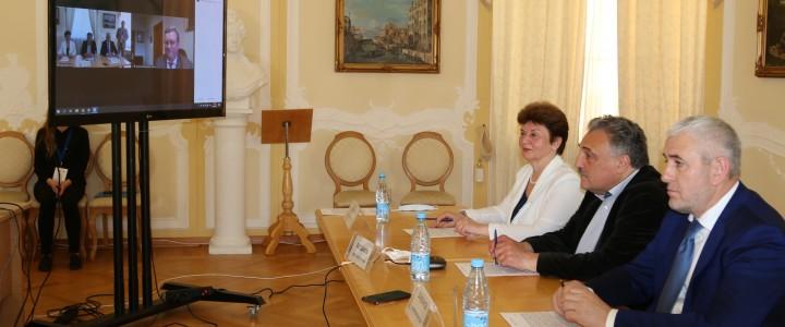 МПГУ подписал протокол о сотрудничестве между педагогическими университетами